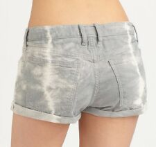 CURRENT/ELLIOTT Jeans Shorts Auth Girlfriend Short Grey Cloud Wash $188 Size 27