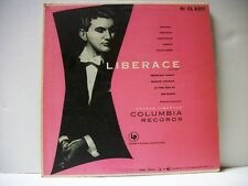 VINTAGE LIBERACE AT THE PIANO with George Liberace Orchestra   LP CL 6217