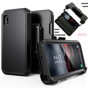 For Samsung Galaxy A10E Case Shockproof Cover+Belt Clip Fits Otterbox Defender