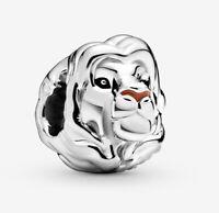 Authentic Pandora Charm 798049  Silver 925 ALE Disney Lion King Simba Bead
