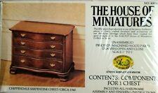 VINTAGE HOUSE OF MINIATURES SERPENTINE CHEST DOLLHOUSE MINIATURE KIT!