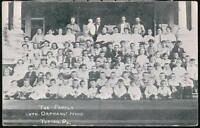 TOPTON PA Lutheran Orphans Home Family Antique 1909 Postcard Early Vtg Penna PC