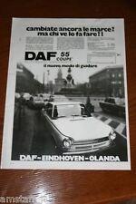 BF18=1972=DAF 55 COUPE'=PUBBLICITA'=ADVERTISING=WERBUNG=
