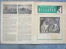 KODAK 1947 FEBRUARY KODAK CAMERA CLUB BULLITEN VOL. 2 NO. 1