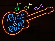 50's American Style Retro Neon Diner Sign Hanging Standing - ROCK & ROLL GUITAR