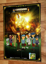 Professor Layton and the Unwound Future / Black Butler Promo Poster Nintendo DS