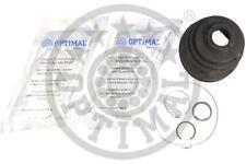 OPTIMAL Faltenbalgsatz Antriebswelle CVB-10348CR Gummi getriebeseitig vorne