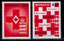 Timbres de Monaco N° 1906 --> 1907 neufs **