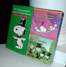 It's Christmastime, Charlie Brown * Life's A Circus * Snoopy's Getting Married
