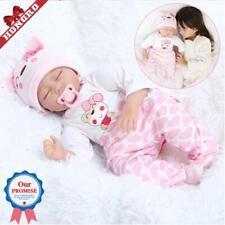 Bébé Reborn Dolls, 22 in (environ 55.88 cm) réaliste endormie poupée girl toddler Real Looking