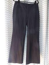 $69 Macy's INC International Concepts Deep Black Stretch WIDE LEG Dress Pants 10