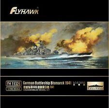 Flyhawk 1/700 1132S German Battleship Bismarck 1941