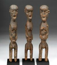 Three Old Lobi Birifor Bateba Shrine Sculptures, African Tribal Art