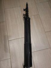 "Impact LS-96HAB Air-Cushioned Heavy Duty Light Stand 9.6"" Black Aluminum"