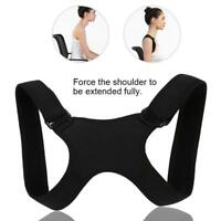 Therapy Posture Corrector Support Body Belt Back Pain Brace Shoulder Men Women