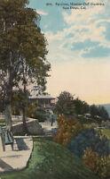 Old Postcard Divided Back Pavilion Mission Cliff Gardens San Diego CAL A133