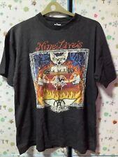 More details for rare vintage official aerosmith nine lives tour t shirt 1997 size l .preloved.