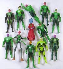 "5pcs DC SUPER HERO Lots Green Lantern 3.75"" Loose Auction Figure Boy Toy GLSD"