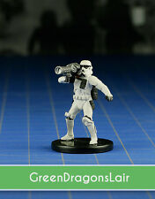Star Wars miniatures mini Imperial Entanglements Shock Trooper #20 & card
