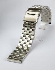SALE!!! 20mm Solid Stainless Steel Straight End Watch Bracelet screw Links Men