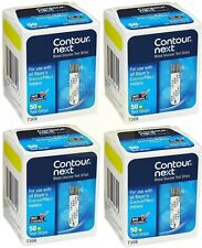 Contour Next Test Strips 4 Boxes of 50. Exp Nov 2021 Or Later (Over A Year)