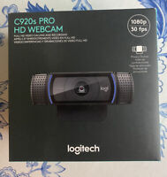Logitech C920s Pro HD 1080p Webcam w/ Privacy Shutter ❗️OVERNIGHT SHIPPING❗️