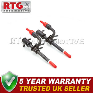 2x Fuel Injector for Ford Transit Non Turbo 1985-2000 Diesel - 5 YEAR WARRANTY