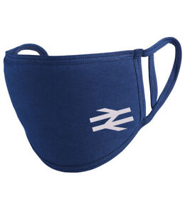 British Rail White Arrows Reusable Washable Face mask/Covering