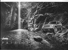 2013 13  Jeep Patriot   Original sales  brochure MINT
