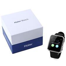 Haier Bluetooth Heart Rate Stainless Steel Case Fit Bit Sport Smart Watch