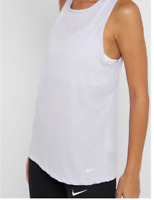 NWT Nike Women's Dry Tank Studio Open Back Purple AO9805 508 Multiple Sizes
