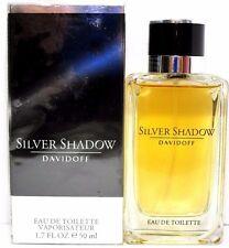 DAVIDOFF SILVER SHADOW EAU DE TOILETTE SPRAY FOR MEN 1.7 Oz / 50 ml BRAND NEW!!!