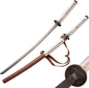 "The Walking Dead Michonne Steel Sword 41"" Samurai Katana Replica Cosplay NEW"