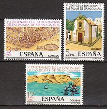 Spain - 1978 500 years Las Palmas - Mi. 2369-71 MNH