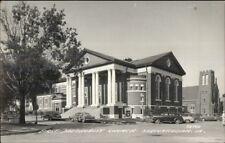 Shenandoah IA First Methodist Church Real Photo Postcard