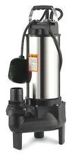 Pompe de relevage des eaux usées pour assainissement 1500W systeme VORTEX
