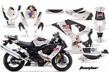AMR Racing Graphic Kit Wrap Part Suzuki GSXR 600/750 Street Bike 04-05 T-BOMB K