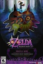 Nintendo 3DS ZELDA MAJORA'S MASK Limited Edition * Skull Kid Figure - brand NEW