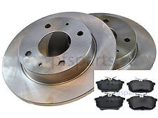 Smart ForFour 2004-2006 Rear Brake Disc and Pad Set