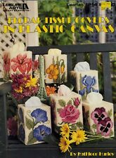 Floral Tissue Covers ~ Plastic Canvas Leaflet