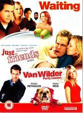 WAITING / JUST FRIENDS / VAN WILDER Party Liaison 3 DISC DVD RYAN REYNOLDS  R2