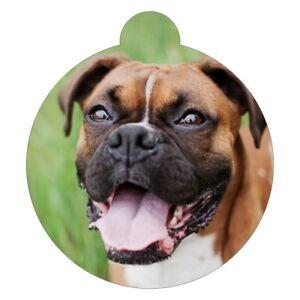 Bulldog Breed Picture Pet ID tag