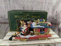 New Bright Holiday express train post office car 380-1 xmas santa