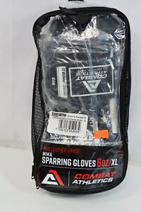Combat Athletics Pro 2.0 MMA Sparring Gloves 6 Oz XL Pro Leather Range