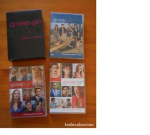 DVD GOSSIP GIRL - TEMPORADAS 1, 2, 3 4 Y 5 COMPLETAS (IL)
