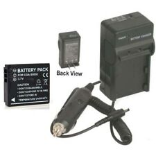 Battery + Charger for Leica D-LUX 4 D-LUX4 DLUX 4 BP DC4-U