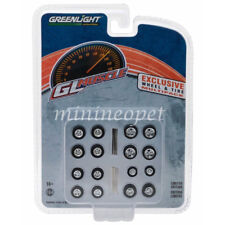 GREENLIGHT 13164 GL MUSCLE 16 WHEELS AND TIRES PACK 1/64