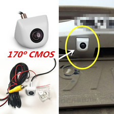 White 170 degree Wide Angle Car CCD HD Waterproof Night Vision Rear View Camera