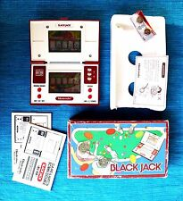 BLACK JACK Game & Watch (NINTENDO). Very COMPLETE, BOXED & NEAR MINT CONDITION!