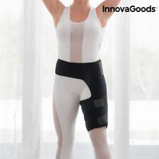 Reha- & Sport Kompression Band gegen Schmerzen Hüfte Schenkel Taille Neopren